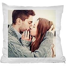 Personello® coussin avec photo personnalisé (40x40) blanc, laisser imprimer  un oreiller avec 269a26f572a