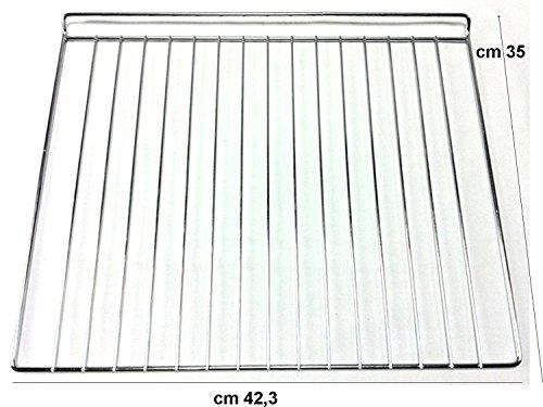REX ELECTROLUX ZANUSSI GRIGLIA FORNO CUCINA GAS AN-4BZV-XQDU ADATTABILE CM 423 X 350 NO ORIGINALE F 0000 4419