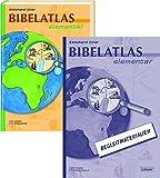 Bibelatlas elementar + Begleitmaterialien: Kombipaket - Ekkehard Stier