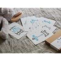 BABY Meilensteinkarten für Jungs