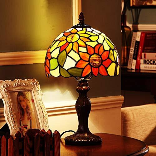 SMBYLL Sun Flower Schlafzimmer Nachttischlampe Kreative Mode Dimmable Retro Tischlampe Tischleuchte (Color : B)