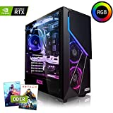 Megaport High End Gaming-PC Intel Core i7-9700K • Nvidia GeForce RTX 2070 8GB • 480 GB SSD • 16GB DDR4 • Windows 10 • 1TB • WLAN Gamer pc Computer Desktop pc Gaming Computer rechner