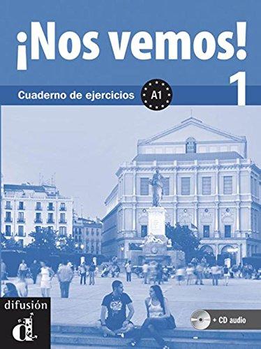 Descargar Libro ¡Nos vemos 1 : Cuaderno de ejercicios A1 (1CD audio) de Aa.Vv.