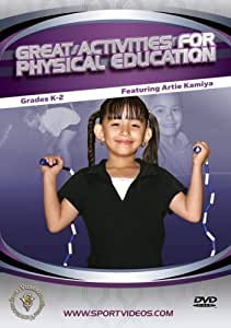 Great Activities for Physical Education - Keystage 2 [DVD]