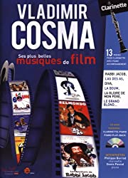 Vladimir Cosma ses plus belles musiques de film clarinette et Piano