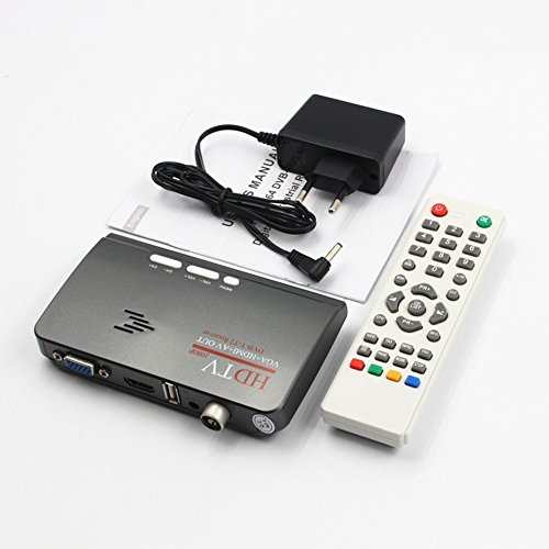 SWEETSTAN DVB-T2 Digital Broadcasting Konverter Empfänger TV BOX Receiver 1080P Kit