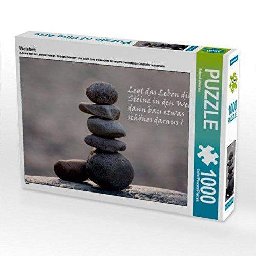 Weisheit 1000 Teile Puzzle quer
