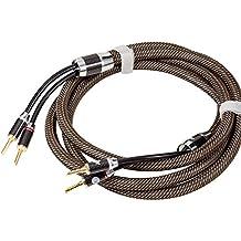 Jib Argon High-End altavoz Cable, 13mm huecas Bana nen Conector