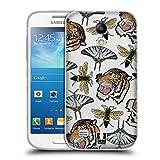 Head Case Designs Tiger, Schmetterling, Und Bienen Patch Styles Soft Gel Hülle für Samsung Galaxy S4 Mini I9190