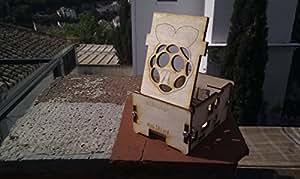Étui pour Raspberry Pi 2et modèle B + Planche. Adapté pour hifiberry Digi Plus Audio Board.