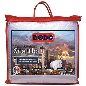 Dodo - DODO Couette Seattle blanche 220x240 cm