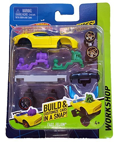 Hot Wheels - 2015 Workshop Snap Rides - Fast Felion by Mattel