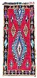 Trendcarpet Tappeto Berberi dal Marocco Boucherouite 270 x 130 cm