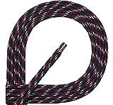 Ladeheid Qualitäts-Schnürsenkel aus 100% Polyester LAKO1002(Muster-12, 180cm)