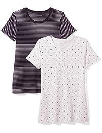 Amazon Essentials – Pantalón corto chino, con tiro de 12,7 cm, para mujer