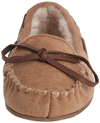 Ruby and Ed Moose Suede, Chaussons à doublure chaude femme Beige - Beige (Acorn)