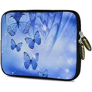 Amzer 10.5-inch Neoprene Sleeve Blue Sparkling for Samsung Galaxy Note 800, Apple iPad Air, Samsung Galaxy Tab 3 10.1 P5210