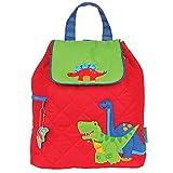 Best Preschool Backpacks - Stephen Joseph Boys Quilted Dinosaur Backpack - Toddler Review