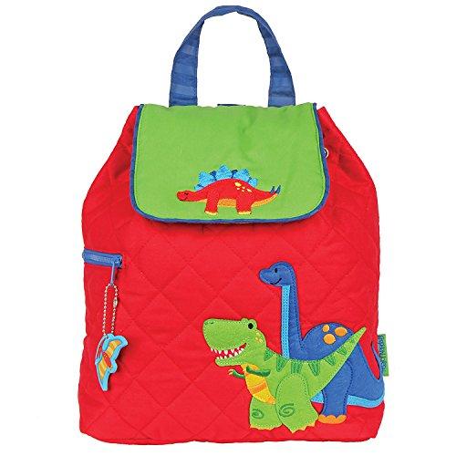Stephen Joseph Children's Quilted Backpacks Kinder-Rucksack, 33 cm, 2 liters, Rot (Red)