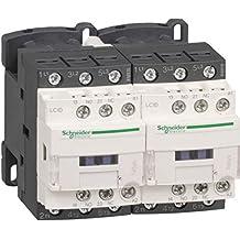 Schneider Electric LC2D12BL Contactor Inversor 12A 24V, Bajo Consumo Antiparasitado
