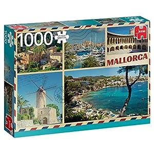 Premium Collection Greetings from Mallorca 1000 pcs Puzzle - Rompecabezas (Puzzle Rompecabezas, Arte, Niños y Adultos, Niño/niña, 12 año(s), Interior)