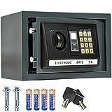 TecTake® Massiver Elektronischer Safe Tresor 20 X 31 X 22cm
