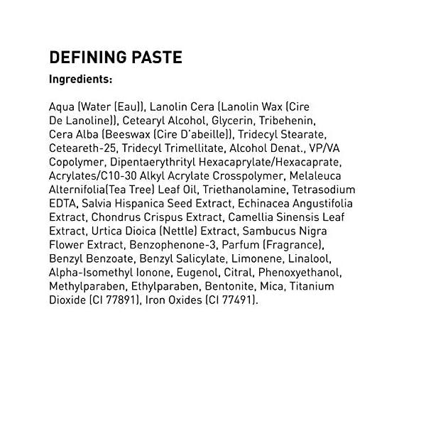 American Crew Defining Paste Crema de Definición (Fijación Media y Brillo Suave) 85g