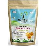 Pollen d'abeille Espagnole de la hauteur d'or | Riche en Vitamines C, B1, B2, B3, Fer, Zinc et de Magnésium | dans le sachet de 250g | La plus haute qualité Granules pure de Pollen d'abeille par TheHealthyTree Company