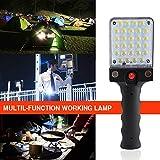 TAOtTAO Lampe de Poche Multifonction Rechargeable LED avec Crochet
