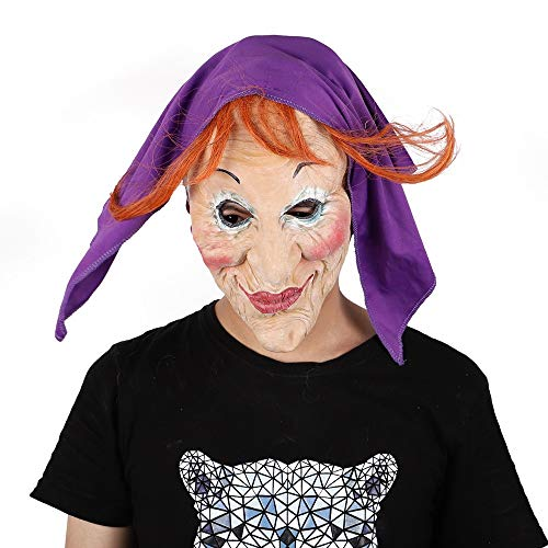 Scary Teenager Für Kostüm Jungs - XBYUK Halloween Make-up Maske Terrorist Kopfbedeckung Maskerade Maske Show Ghost Festival Bar Atmosphere Party