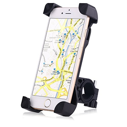 Dashtop Bicycle Mount Holder,Universal Bicycle Phone Holder,Cycle  Adjustable Cradle Handlebar Roll Bar For IOS Android Smart phone,GPS and  other