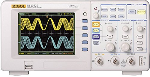 Rigol 20-010-035 - Osciloscopio de almacenamiento digital, 2 canales, ancho de banda de 50 mhz