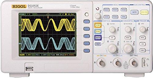 RIGOL DS1052E Digitales Speicher-Oszilloskop, 2 Kanal, 50 MHz