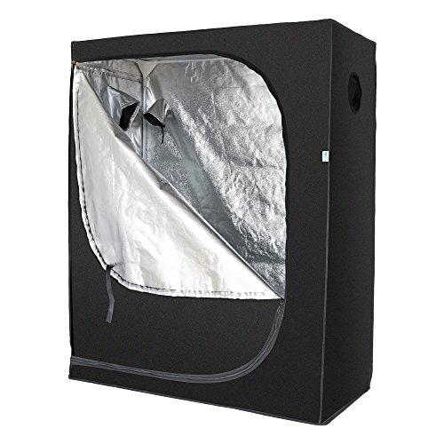 Trojan, Hydrokultur Indoor Hydro Licht Box Grow Zelt, Silver Range