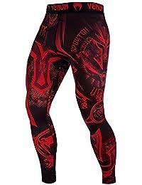 Venum Gladiator 3.0 Pantalones de Compresión, Hombre, Negro/Rojo, S
