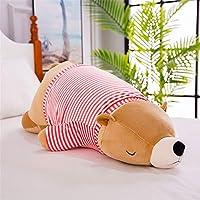 jiahuixinxikejiyouxiangongsi Cute soft polar bear doll plush toy children sleeping pillow doll girl gift accompany sleeping puppet Bear 6 50cm