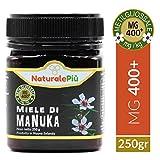 Miel de Manuka 400+ MGO 250 gr | Produit en Nouvelle-Zélande. Actif et brut, 100 %...