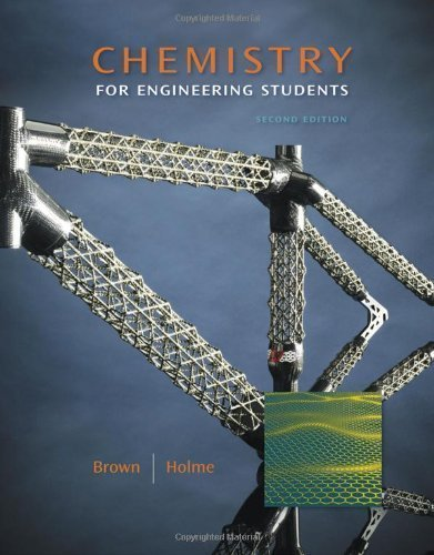Chemistry for Engineering Students by Brown, Larry Published by Cengage Learning 2nd (second) edition (2010) Hardcover