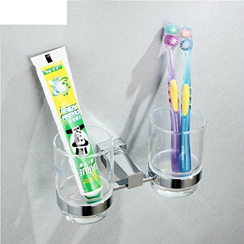 Copper Double Cup Holders On Gurgeln Tassenablage Badezimmer Mundwasser Becher Halter Zahn Becher Halter Zahnbürste - Cup Holder Zahn