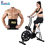 #6: Body Gym Exercise Cycle 201 for Weight Loss at Home | Bonus New Sweet Belt for Stomach Exercise | Fitness Bike With Abdominal Exerciser | By KS Healthcare