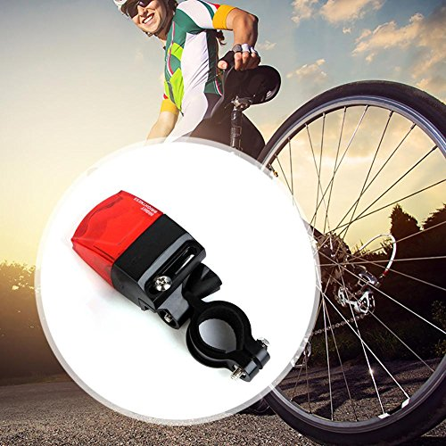 Selbst-angetriebene Fahrradrücklichtbergstraßenscheinwerfer die Warnlichter fahren LED Rückleuchte Lightring LED Rücklicht Fahrradrücklicht