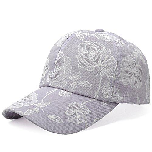 Casquette de baseball de la version coréenne /Chapeau de printemps/Pare-soleil fashion casual imprimé D