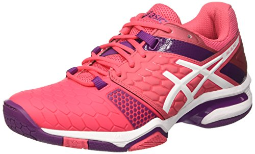 ASICS Gel-Blast 7, Scarpe Sportive Indoor Donna, Rosa (Rouge Red/White/Prune), 38 EU