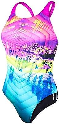 Speedo traje de baño 1 pieza W piscina Collido multicolor