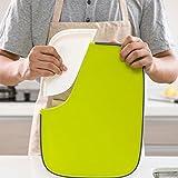 Tagliere da cucina multifunzione, anti-scivolo, antibatterico, antimuffa, verde.