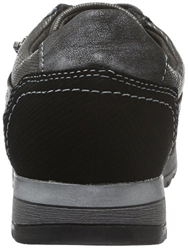 Jana 23701, Baskets Basses Femme Noir (Black Comb 098)