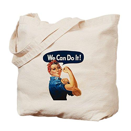CafePress–We Can Do It.–Leinwand Natur Tasche, Reinigungstuch Einkaufstasche S khaki (Waschen Americana)
