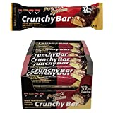 Power System Crunchy Bar - Protein Riegel 21 x 45 g (Vanille)