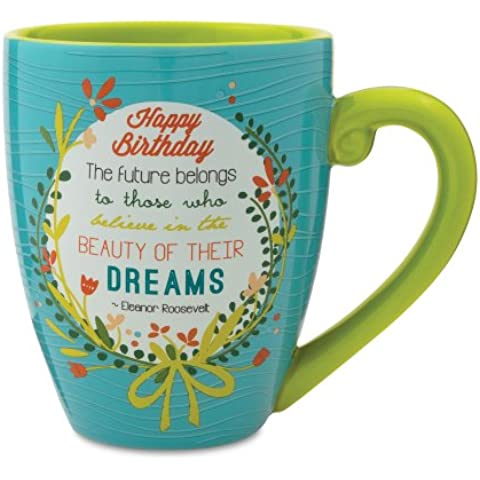 Pavilion Gift Company 40012 Words to Breathe By Ceramic Mug,