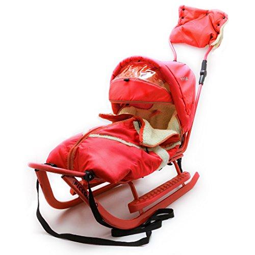 Babyschlitten Piccolino Komfort (Rot)